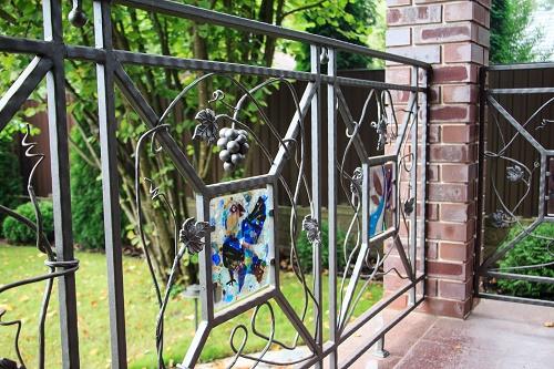une clôture pour maison